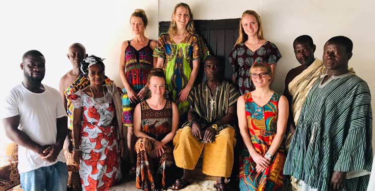 Global Health Students Go To Ghana West Africa National University Of Natural Medicine