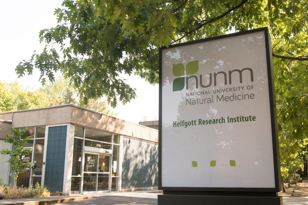 The Helfgott Research Institute at the National College of Natural Medicine is a nonprofit organization whose mission is to conduct rigorous research in natural medicine.