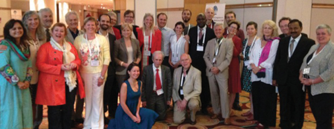 World Naturopathic Federation Founders at ICNM Conference.