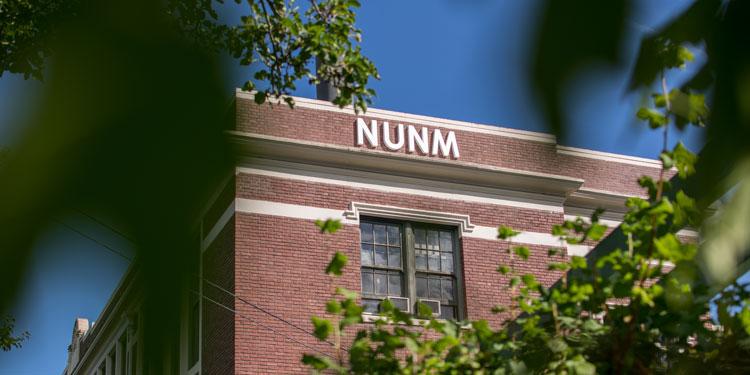 NUNM's academic building